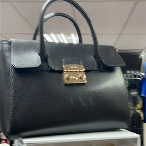 Tote bag in Italian leather